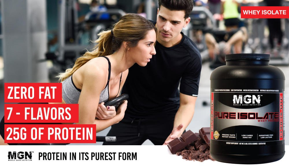 pure whey protein isolate
