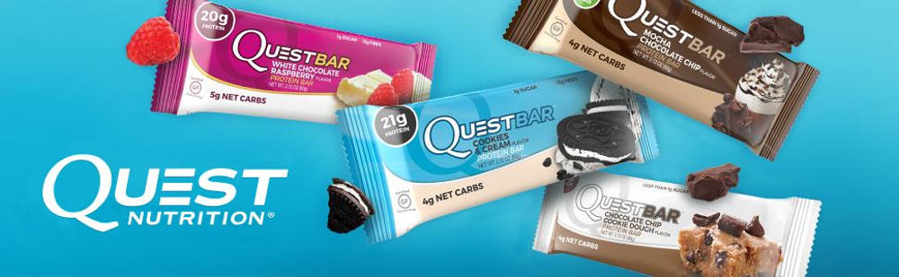 quest protein bar hero banner