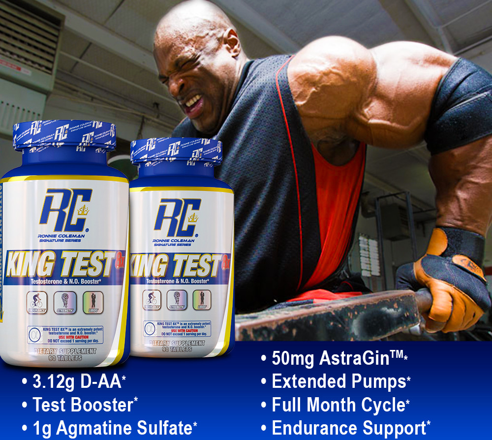 King Test 8X by Ronnie Coleman Signature Series: Lowest Prices at Muscle & Strength