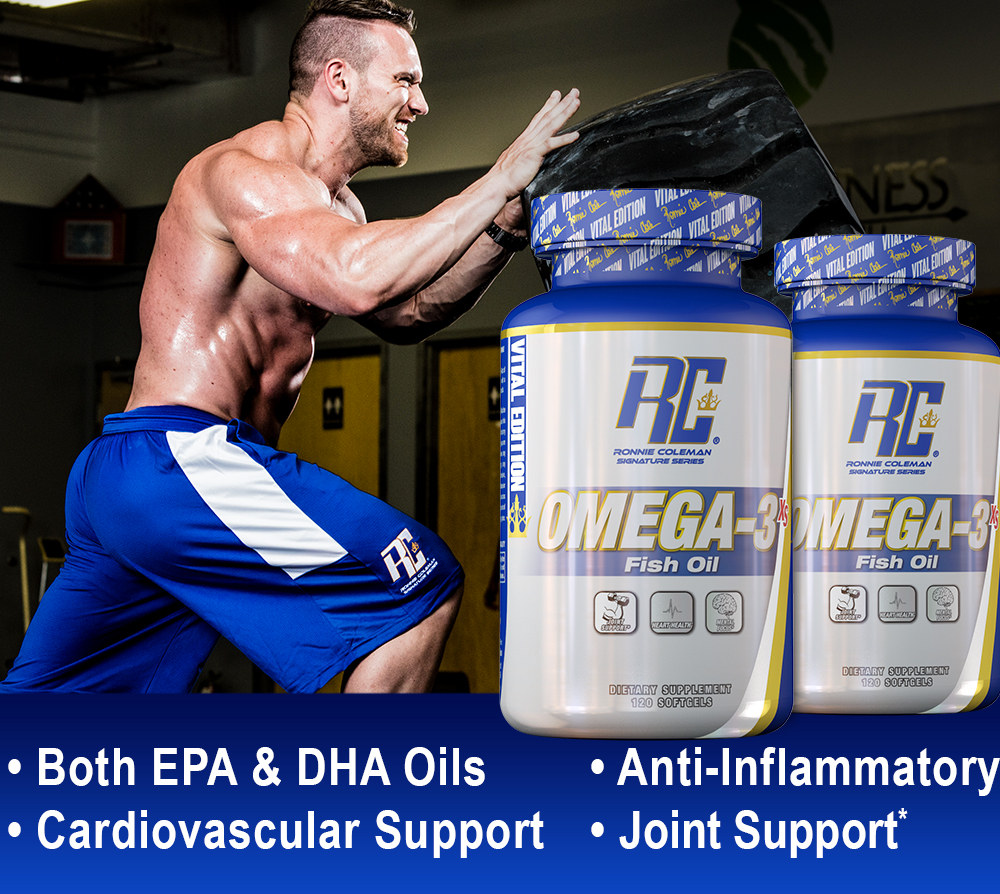 Omega-3 XS by Ronnie Coleman Signature Series: Lowest Prices at Muscle &  Strength