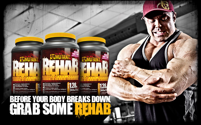 Before your body breaks down, grab some Rehab