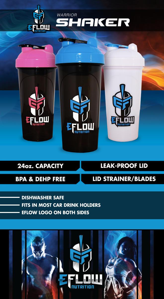 eflow shaker bottle