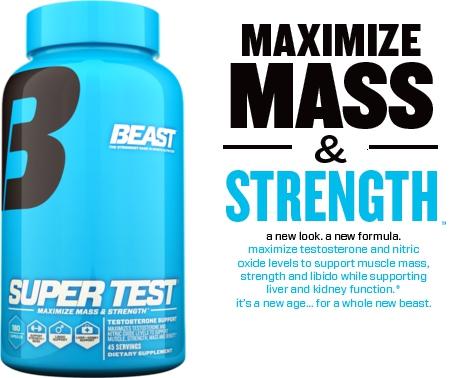 Beast Sport Nutrition Super Test