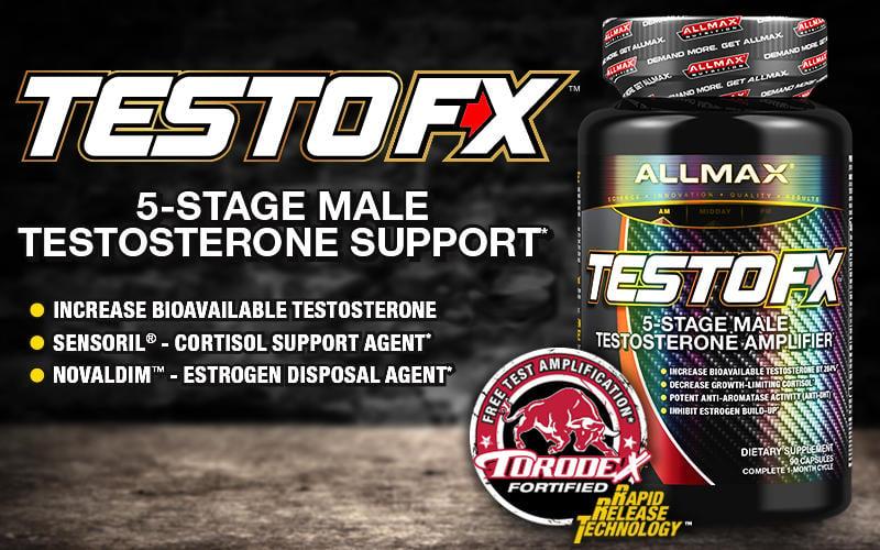 Allmax Testo Fx - Fitness Fanatics