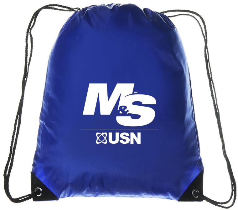 USN Drawstring Bag Detail
