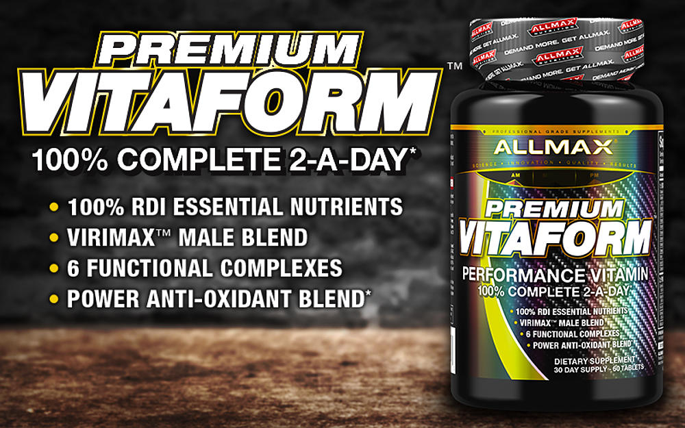 allmax vitaform header