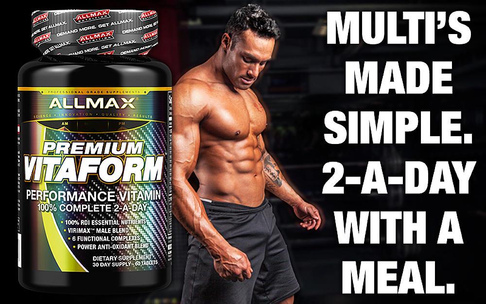 vitaform multivitamin two a day footer