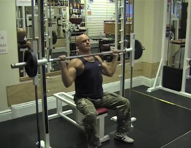 Shoulder Press Smith Machine Best Machine 2018